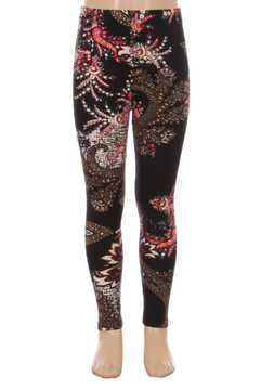 Berry Plume Kid's Leggings