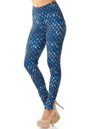Creamy Soft Feral Mermaid Leggings