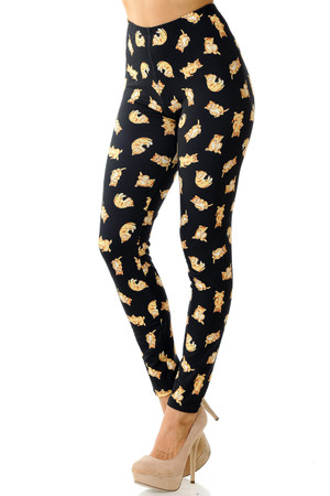 Creamy Soft Playful Kitty Cats Leggings