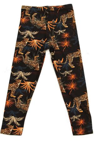 Brushed Bold Cheetah Kids Leggings