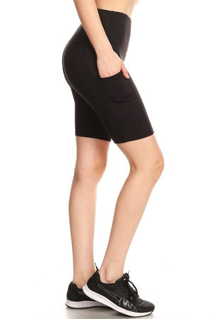 Solid Sport Workout Shorts