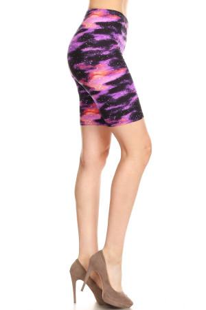 Soft Brushed Purple Mist Shorts