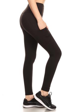 Sport Light Fleece Basic Workout Leggings