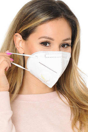 KN95 Medical Mask with Air Valve- Singles - Individually Wrapped