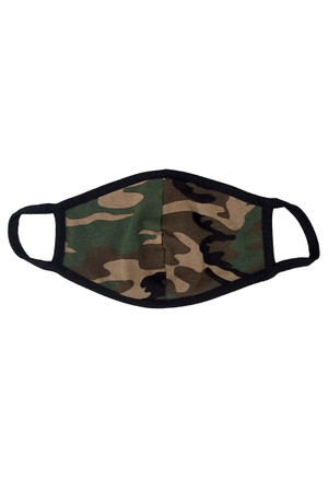 Kid's Camouflage Face Mask - Made in USA