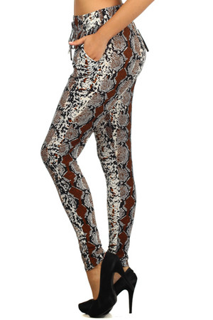 Anaconda Harem Leggings