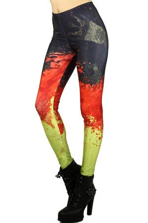 Splattered Trinity Leggings