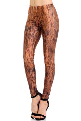 Hairy Leg Wookie Leggings
