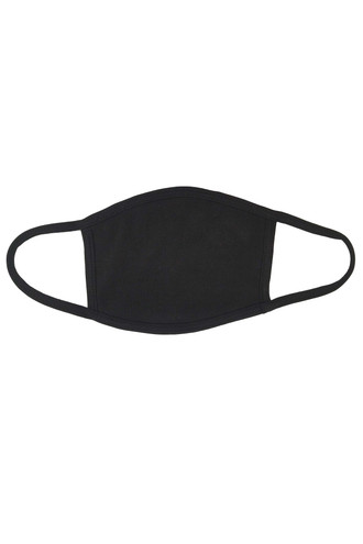 Seamless Cotton Face Mask - No Rear Pocket - Made in USA