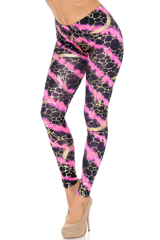 Colorcade Plus Size Leggings - Made in USA - LIMITED EDITION