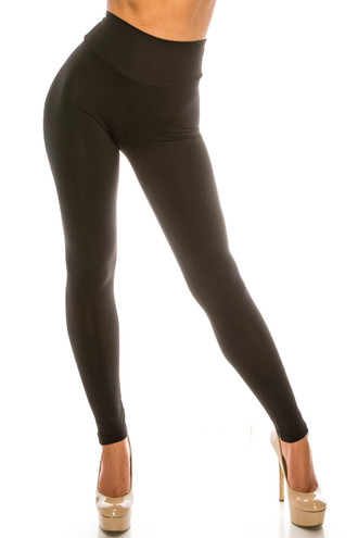 USA Basic High Waisted Athleisure Leggings