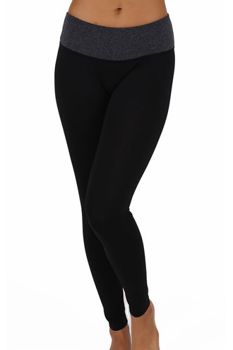 Contrast Women's Basic Leggings