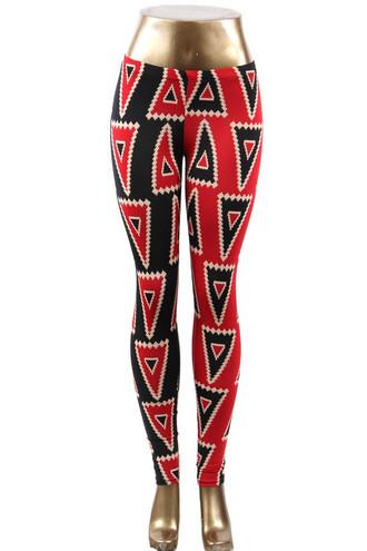 Harley Quinn Triangle Leggings