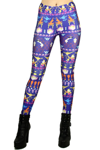 Aladdin Leggings - Plus Size