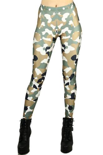 Incognito Camouflage Leggings