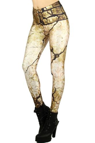 Cracked Stone Leggings