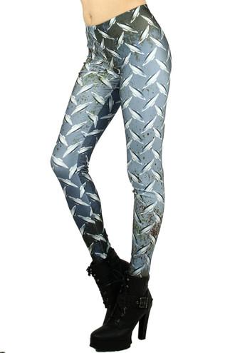 Diamond Plate Leggings