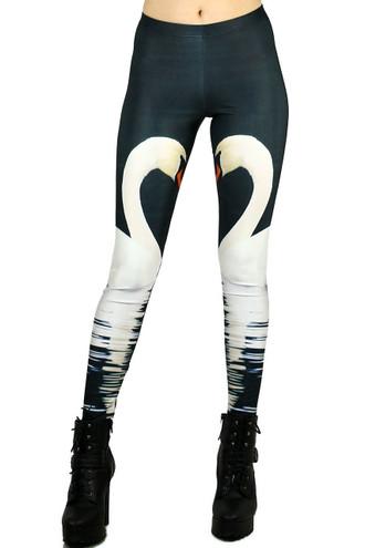 Swan Leggings