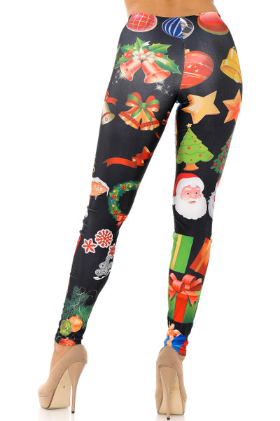 The Spirit of Christmas Leggings - Plus Size