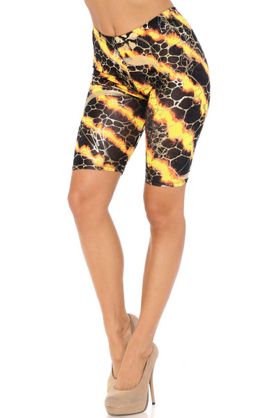 Colorcade Plus Size Biker Shorts - Made in USA - LIMITED EDITION