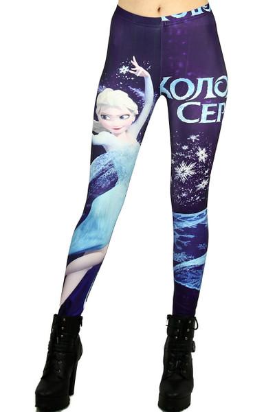 Frozen Princess Leggings