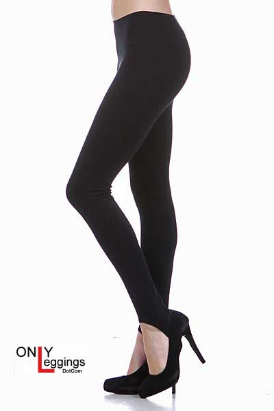 USA Cotton Stirrup Leggings