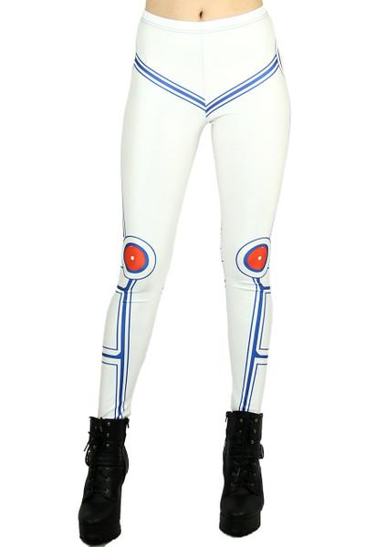 White Droid Trooper Leggings
