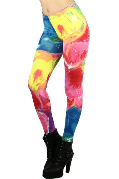 Color Whirl Leggings