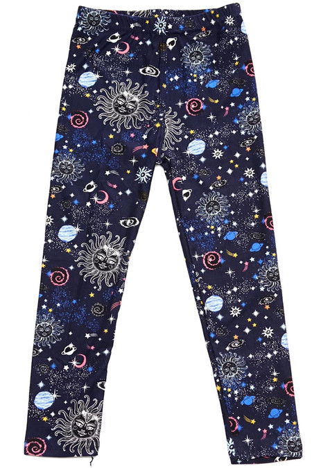 Brushed Celestial Heavens Kids Leggings