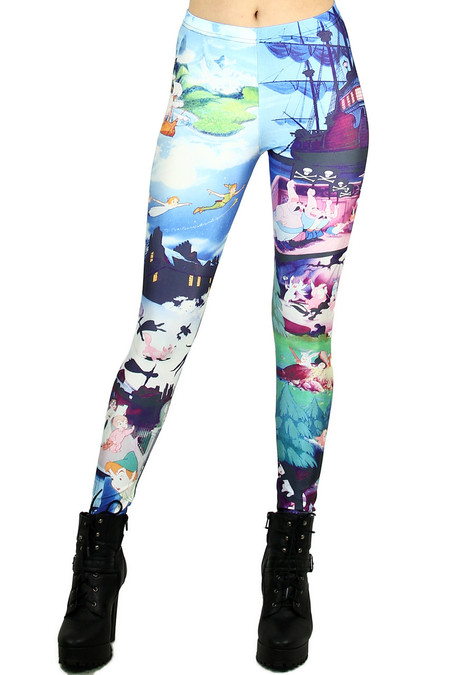 Peter Pan Leggings - Plus Size