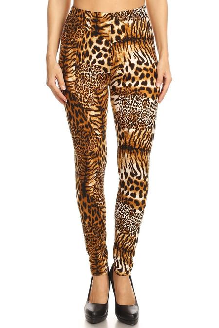 Wild Jungle Cat Leggings