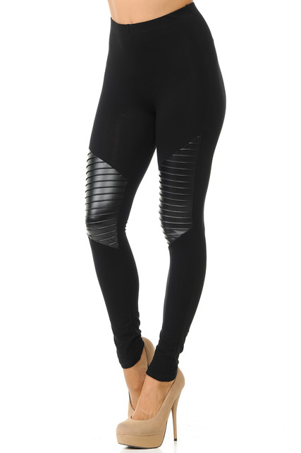 Thigh Detailed Cruiser Leggings