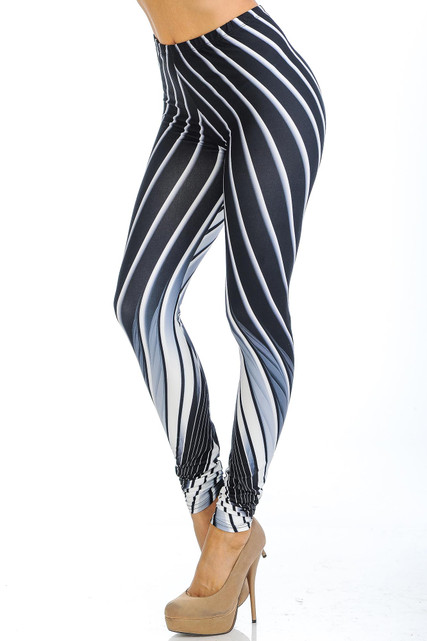 Creamy Soft Contour Body Lines Leggings - USA Fashion™