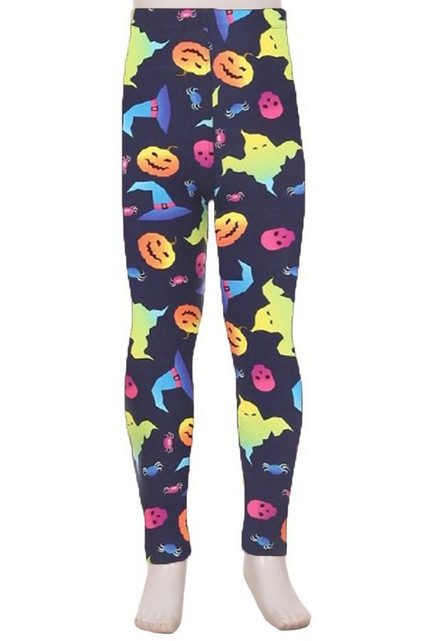 Buttery Soft Ghostbusters Ghost Kids Leggings