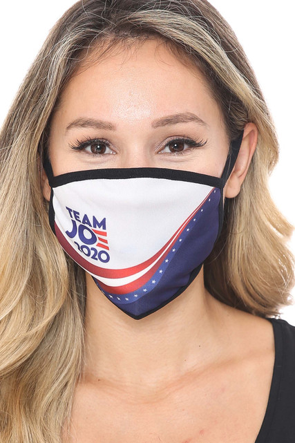 Team Joe Biden Face Mask