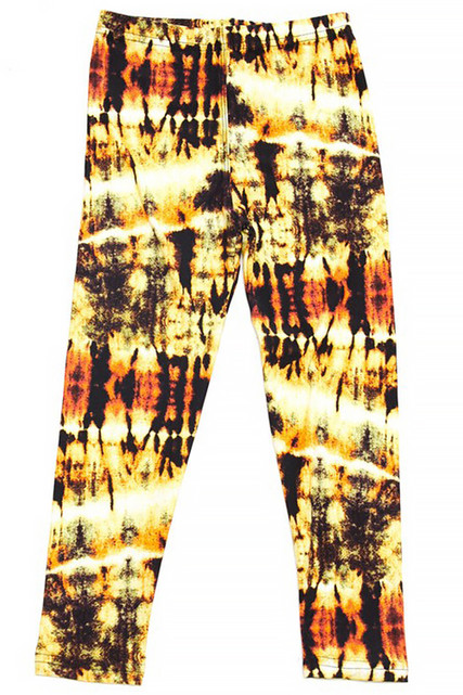 Buttery Soft Sunshine Tie Dye Kids Leggings