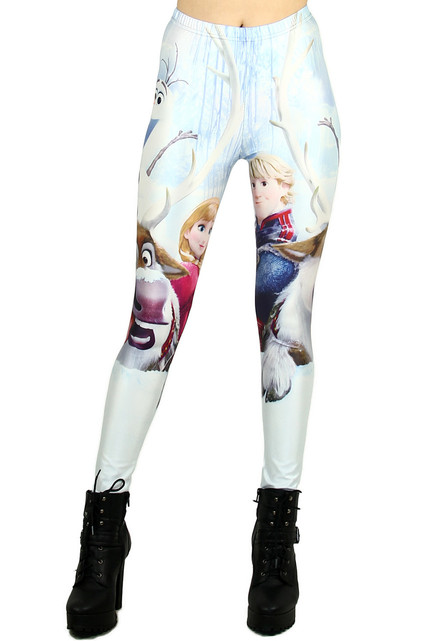 Anna and Kristoff Leggings