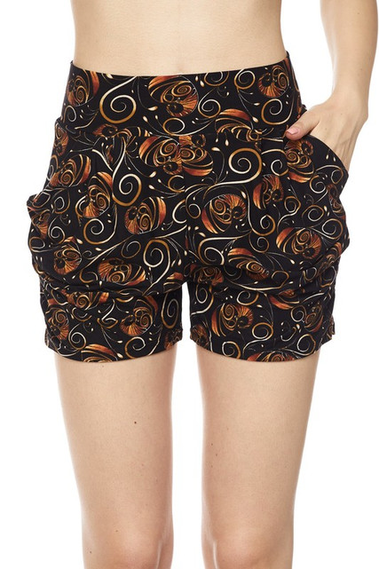 Chic Repose Harem Shorts
