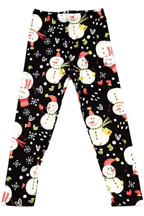 e6d7250e6a9746 Frosty the Snowman Kids Leggings | Only Leggings