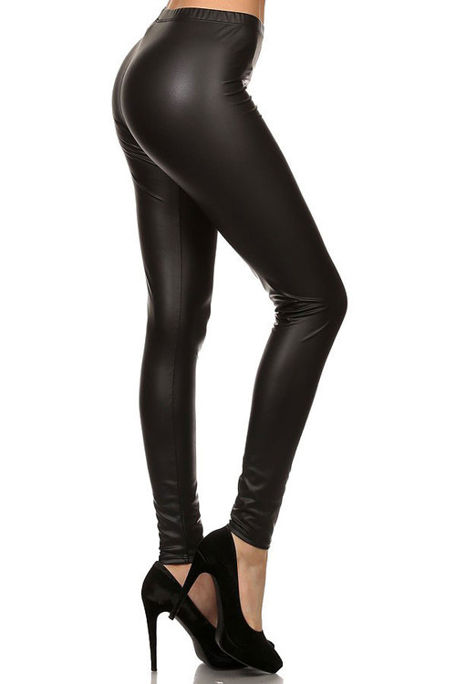 8a855f10cffc3 Matte Faux Leather Leggings | Only Leggings