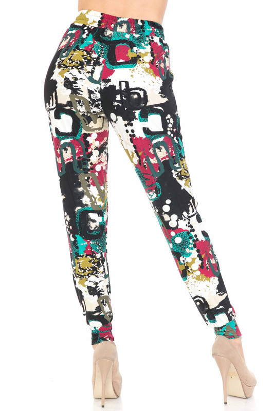 Buttery Soft Summer Picasso Joggers