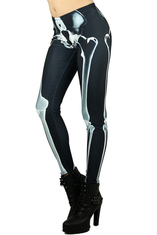 X-Ray Skeleton Leggings