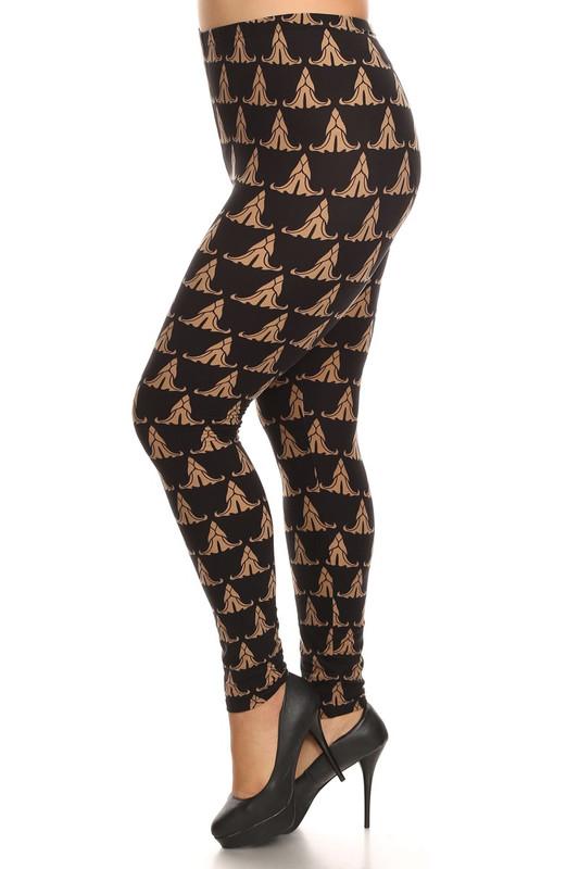 Bronze Iconic Leggings - Plus Size