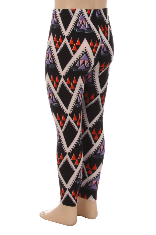 Chevron Tribal Kids Leggings
