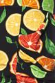Citrus Fruit Harem Shorts