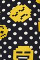 Brushed Retro Pixel Arcade Emoji Plus Size Leggings