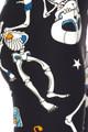 BrushedDancing Skeletons Plus Size Leggings - 3X-5X