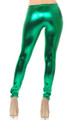 Colorful Metallic Leggings