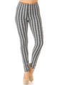 Brushed Houndstooth Leggings