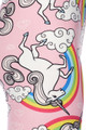 Brushed Pink Rainbow Unicorn Plus Size Leggings